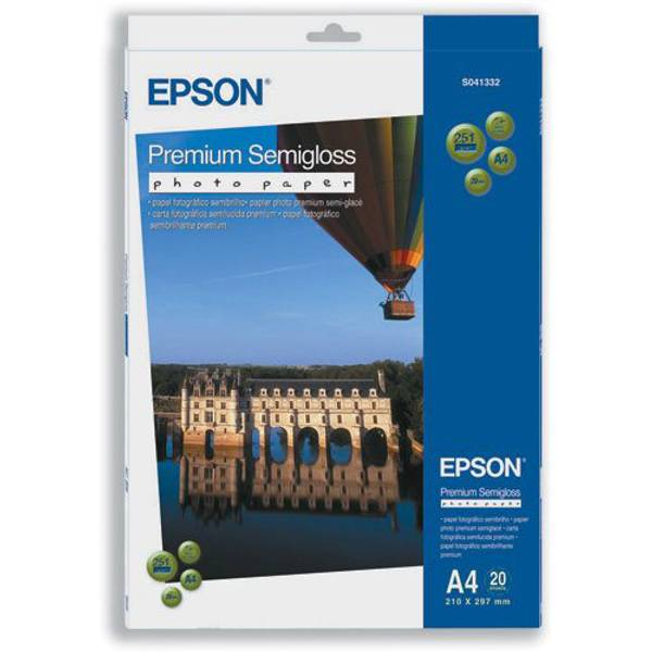 Bilde av Epson A4 Semi-Glossy Premium Photo Paper 251gsm