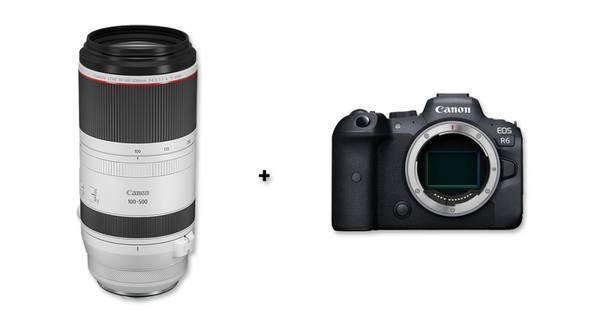Bilde av Canon EOS R6 + Canon RF 100-500mm F4.5-7.1L IS