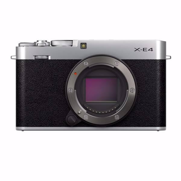 Bilde av Fujifilm X-E4 Sølv + MHG-XE4 håndgrep + TR-XE4