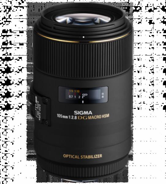 Bilde av Sigma 105mm F2.8 EX DG OS HSM Macro Nikon