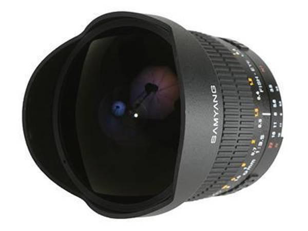 Bilde av Samyang MF 8/3.5 Fisheye CS for Canon Brukt