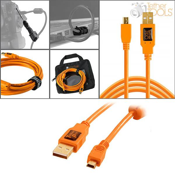 Bilde av Tether Tools Starter Tethering Kit USB 2.0 Mini-B