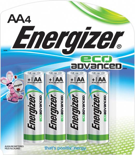Energizer Eco Adv AA BP4