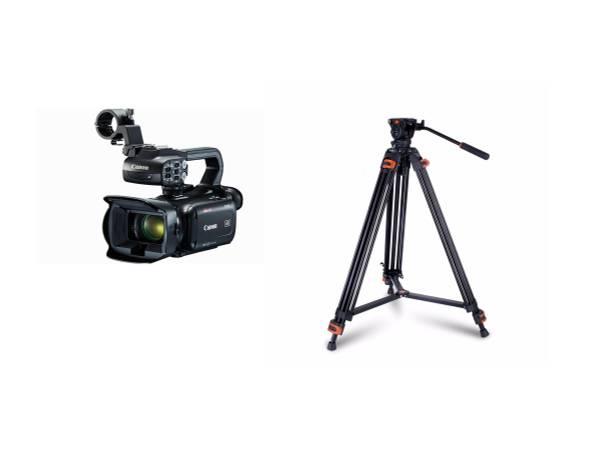 Bilde av Canon XA45 + COMAN DX16L (Q5) VIDEOSTATIV