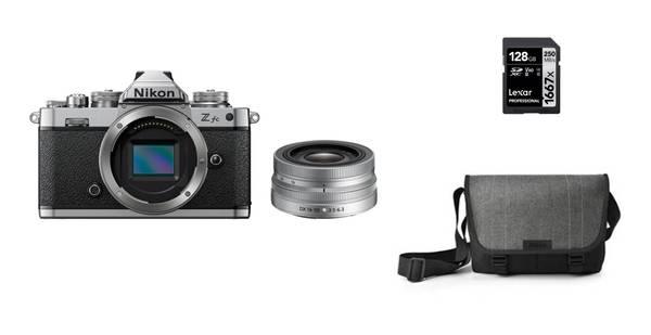 Bilde av Nikon Z fc + 16-50mm + minnekort og veske