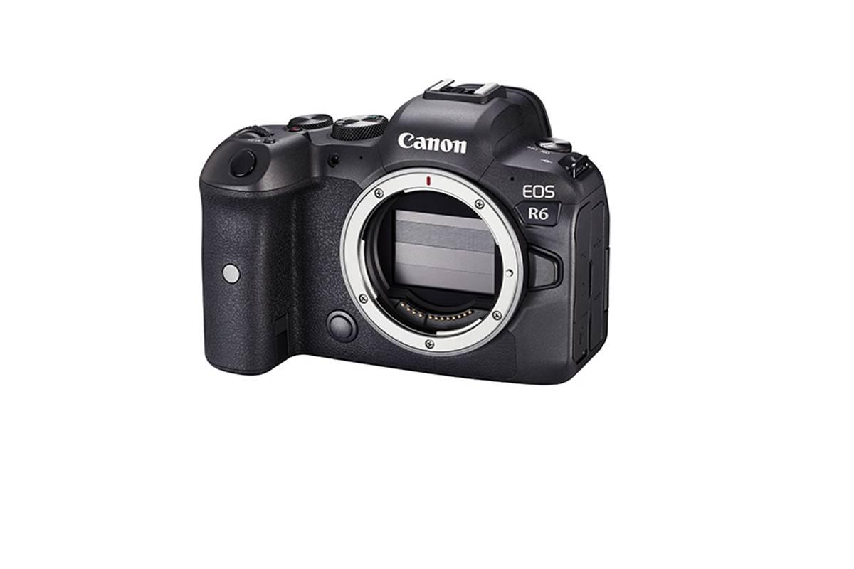 Canon EOS R6 + LP-E6NH batteri og EF-R adapter juli kampanje