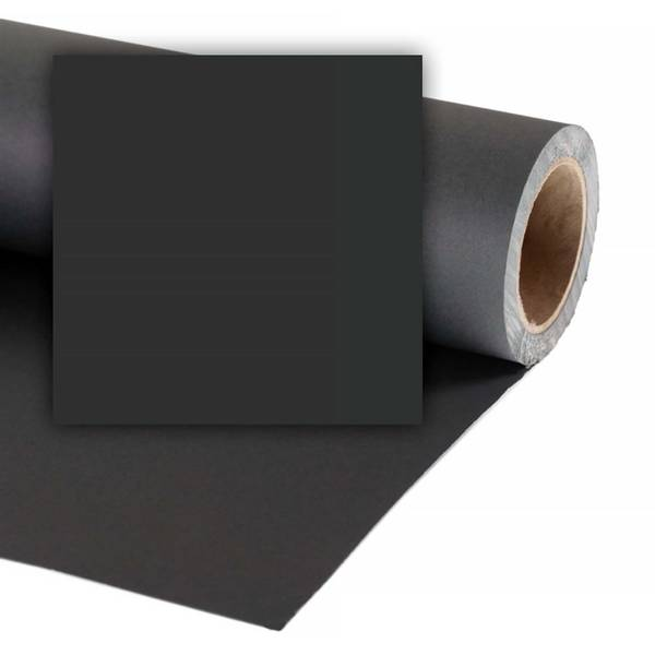 Bilde av Colorama 2.72x11m Black