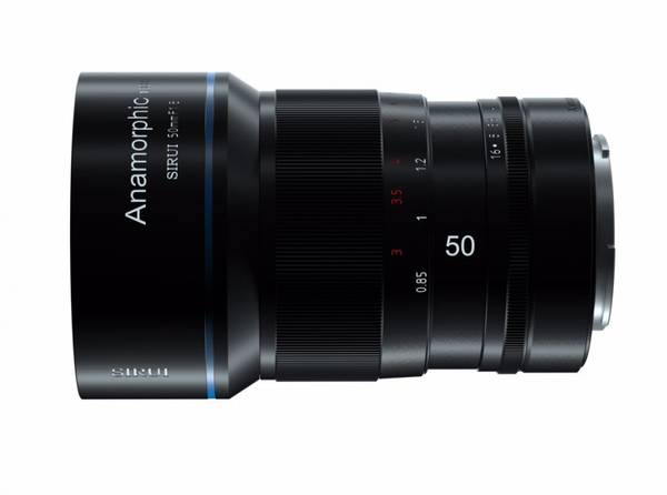 Bilde av SIRUI Anamorphic Objektiv 1,33x 50mm 1.8 MFT