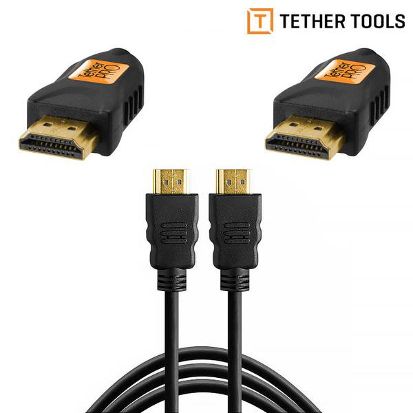 Bilde av Tether Tools TetherPro HDMI A till HDMI A 1m