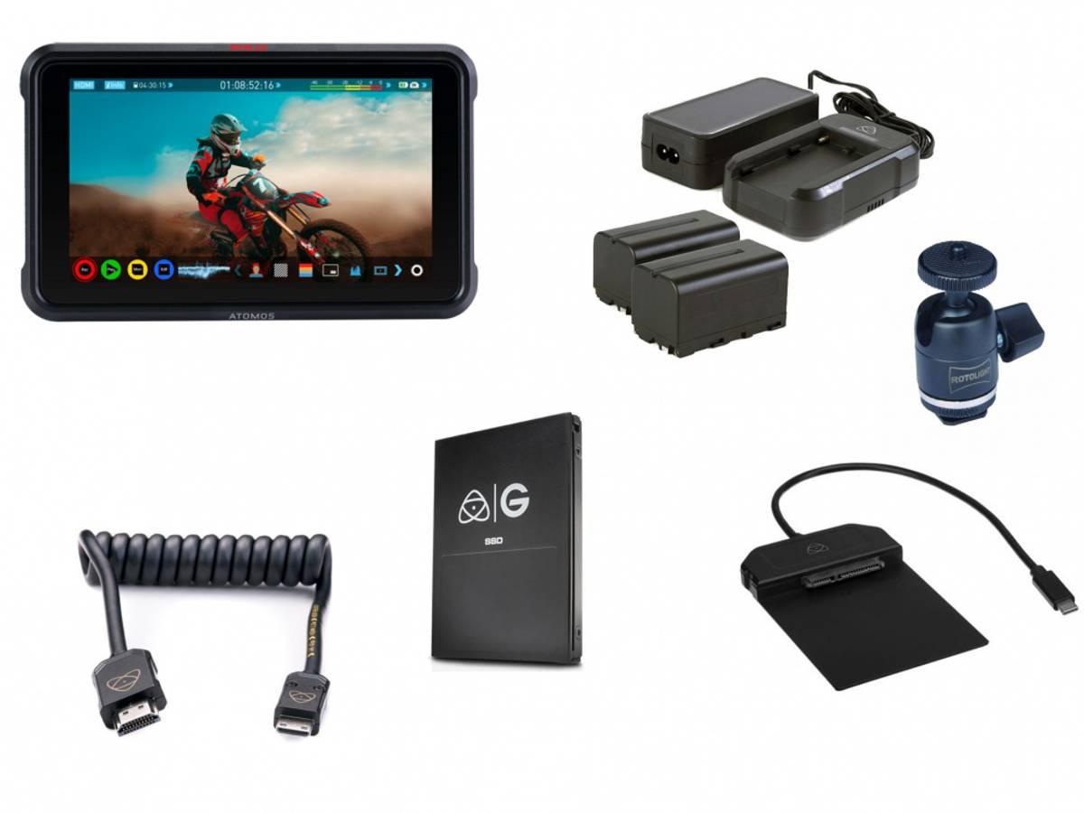 Atomos Ninja V kit 512GB