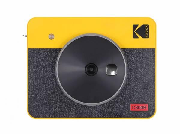 Bilde av Kodak MiniShot 3 combo Retro Gul