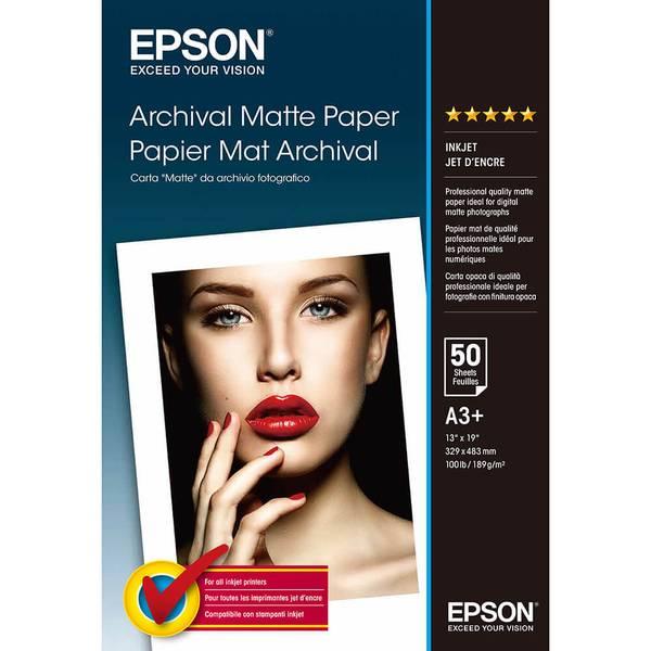 Bilde av EPSON A3+ Archival Matte Paper 192gr, 50 sheets