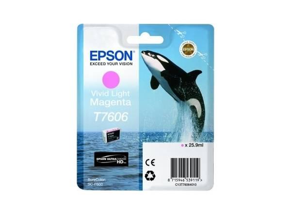 Bilde av Epson T7606 Vivid Light Magenta