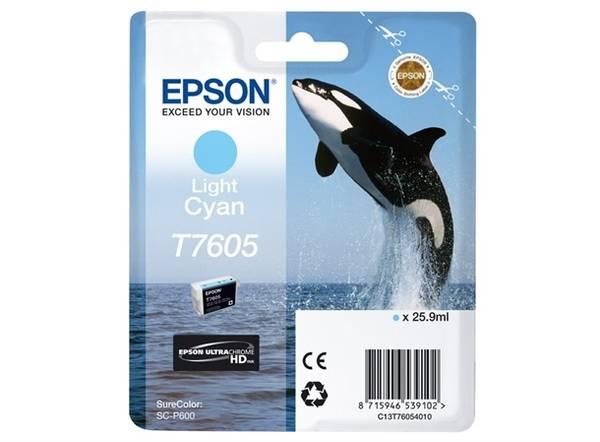 Bilde av Epson T7605 Light Cyan