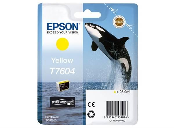 Bilde av Epson T7604 Yellow