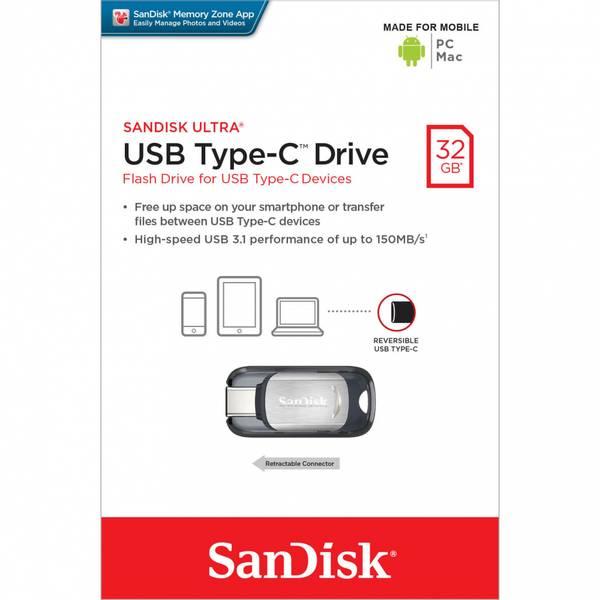 Bilde av SANDISK USB-minne Typ C Ultra 32GB
