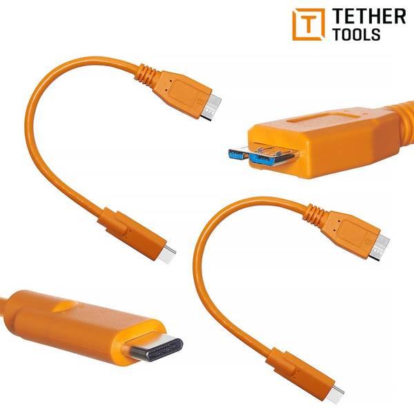 Bilde av TETHER TOOLS AIR DIRECT USB-C TIL USB 3.0 MICRO-B