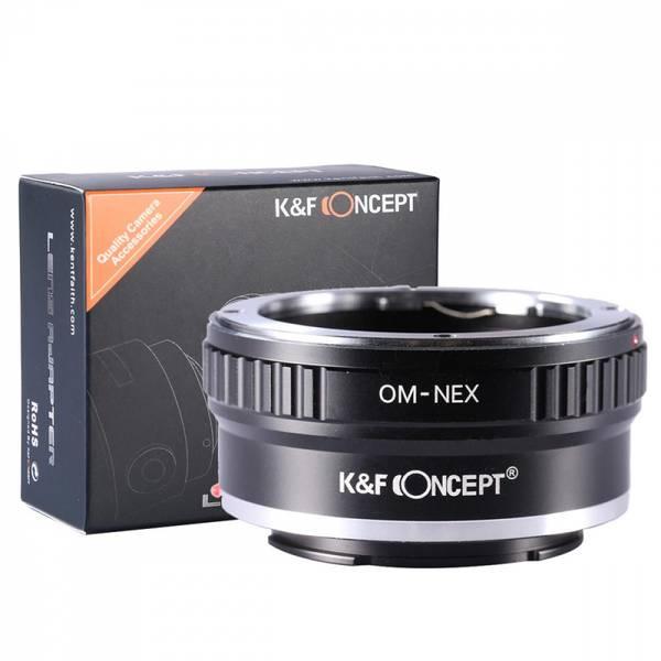 Bilde av K&F Olympus OM Lenses to Sony E Mount Camera