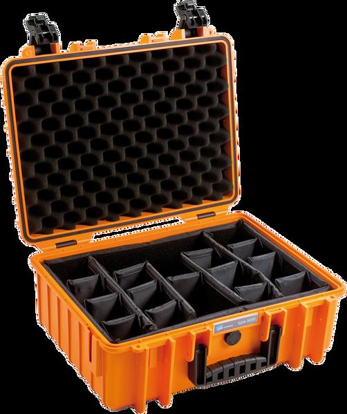 Bilde av BW Outdoor Cases Type 5000 Oransje RPD (Oppdelt)