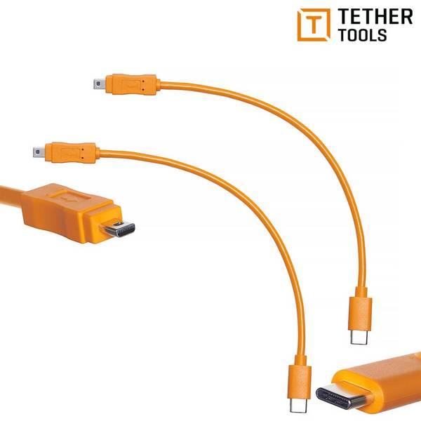 Bilde av TETHER TOOLS AIR DIRECT USB-C TIL USB 2.0 MINI-B