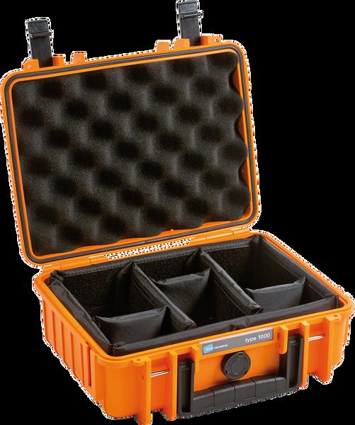 Bilde av BW Outdoor Cases Type 1000 Oransje RPD (Oppdelt)