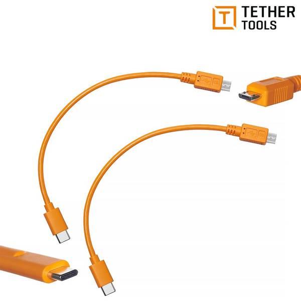Bilde av TETHER TOOLS AIR DIRECT USB-C TIL USB 2.0 MICRO-B