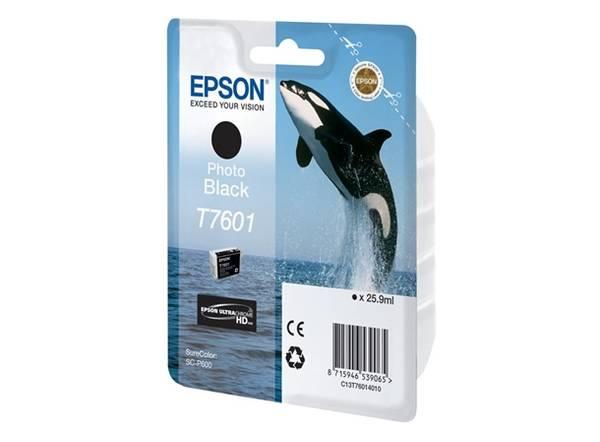 Bilde av Epson T7601 Photo Black