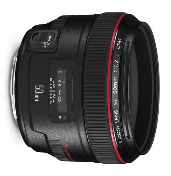 Bilde av Canon EF 50/1,2 L USM