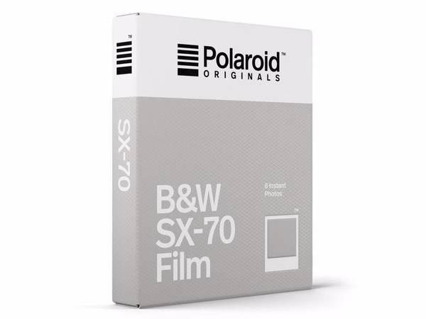Bilde av POLAROID ORIGINALS B&W Film for SX-70