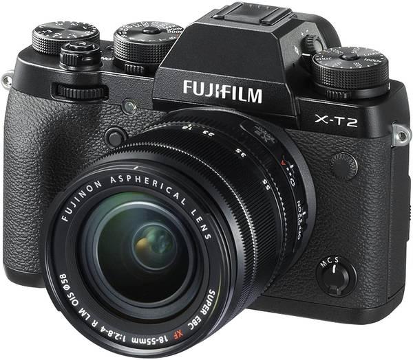 Bilde av Fujifilm X-T2 m/18-55mm F2.8-4 R LM OIS Brukt