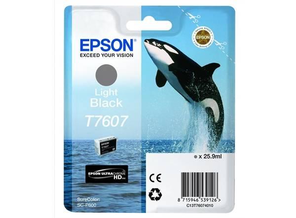 Bilde av Epson T7607 Light Black