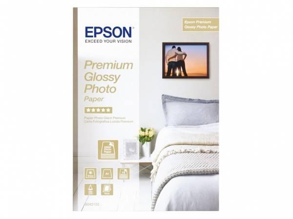 Bilde av Epson Premium Glossy Photo Paper 255g A4 15stk