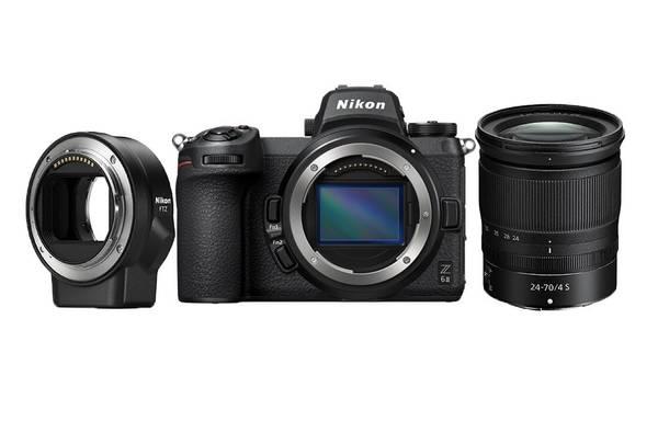 Bilde av Nikon Z 6II + 24-70 f/4 + FTZ
