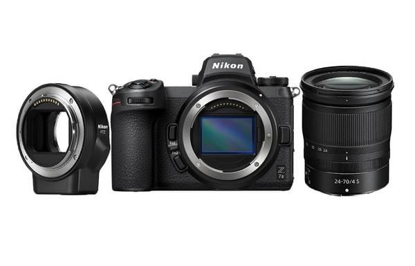 Bilde av Nikon Z 7II + Z 24-70 f/4 + FTZ Adapter
