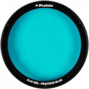 Bilde av Profoto Clic Gel Peacock Blue