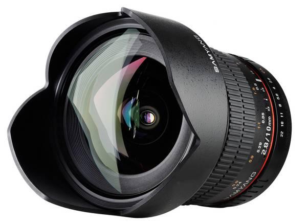 Bilde av SAMYANG 10mm F2,8 ED AS NCS for Canon