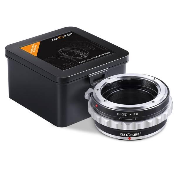 Bilde av K&F Nikon G/F/AI/AIS/D Lenses to Fuji X Lens