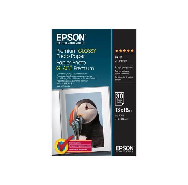 Bilde av Epson 13x18cm Premium Glossy Photo Paper 255gr 30