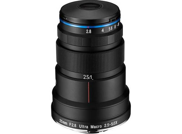 Bilde av Laowa 25mm f/2.8 2.5-5X Ultra-Macro For Canon EF