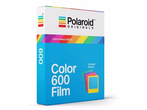 Bilde av POLAROID Color Film 600 Color Frame