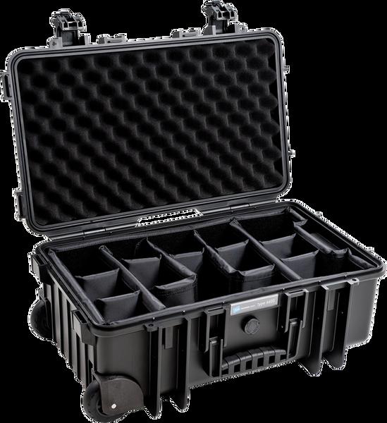Bilde av BW Outdoor Cases Type 6600 BLK RPD (divider