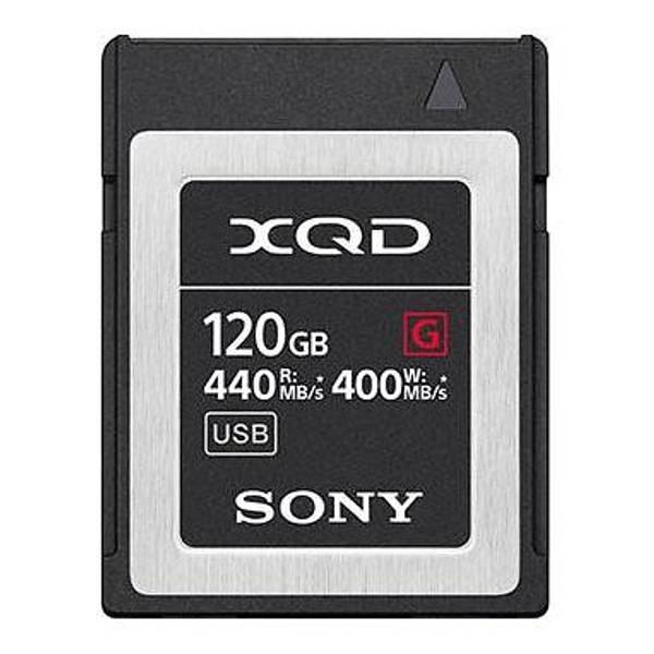 Bilde av Sony G Series XQD 440/400MB/s 120GB