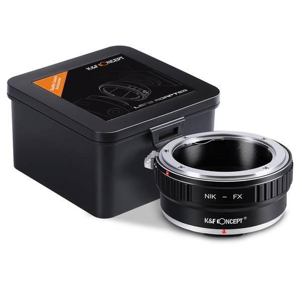 Bilde av K&F Nikon F Lenses to Fuji X Lens Mount Adapter