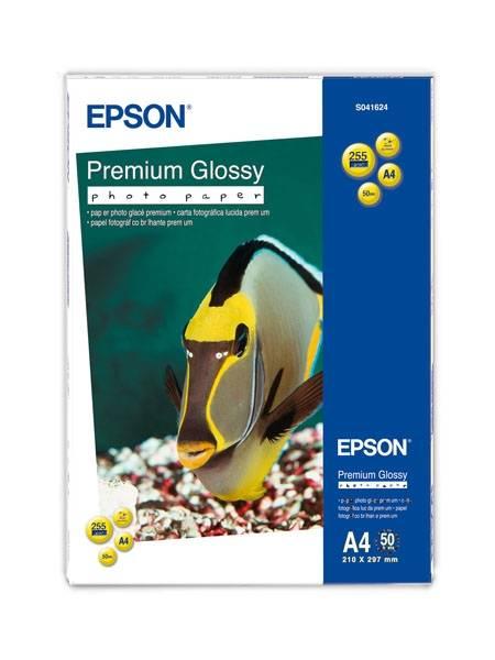 Bilde av Epson Premium Glossy Photo Paper A4 50 ark 255g