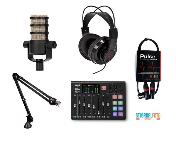 Bilde av RØDECaster Pro studio kit Delux