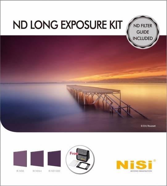 Bilde av NISI Filter IRND Long Exposure Kit 100mm