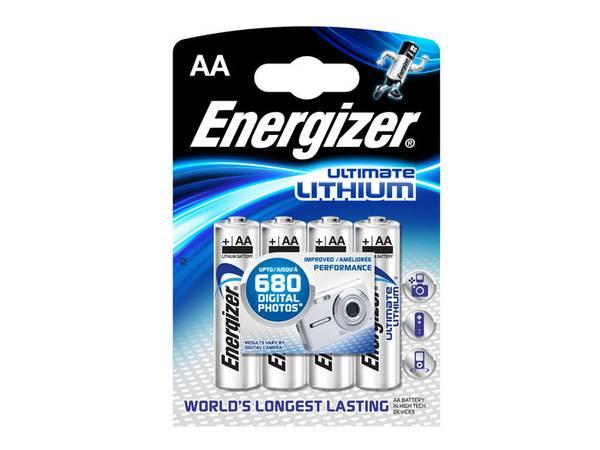 Bilde av Energizer Ultimate Lithium AA 4-pakk