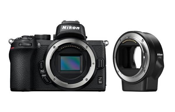 Bilde av Nikon Z50 + Mount Adapter FTZ