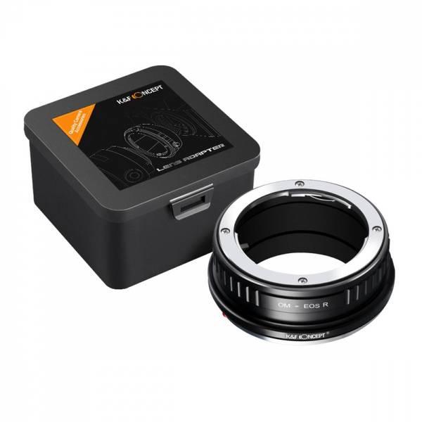 Bilde av K&F Olympus OM Lenses to Canon EOS R Mount Camera