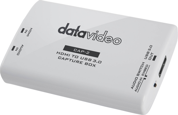 Bilde av DATAVIDEO CAP-2 HDMI to USB (UVC) Capture (Input)
